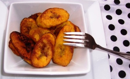 Cuban Fried Ripe Plantains